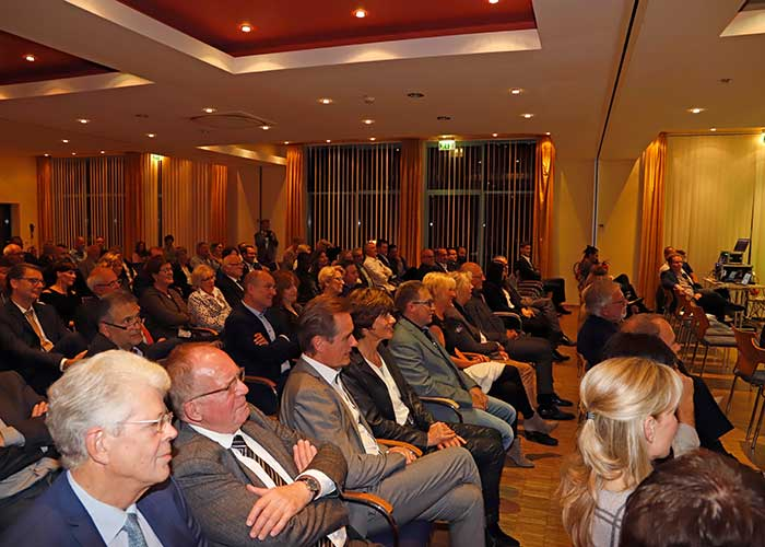 Blick ins Publikum während eines Vortrags