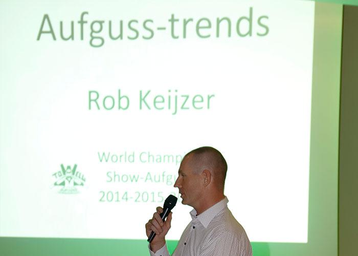 Rob Keijzer über neue Aufgusstrends