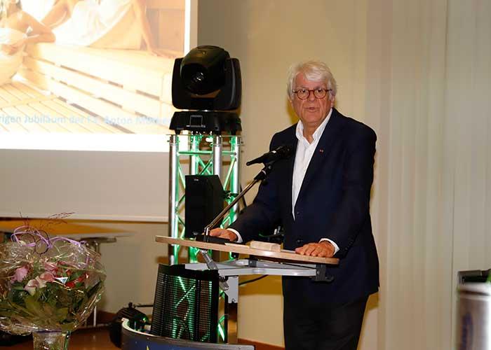 Prof. Dr. Bontrup bei der 60-Jahr-Feier der Anton Müther GmbH
