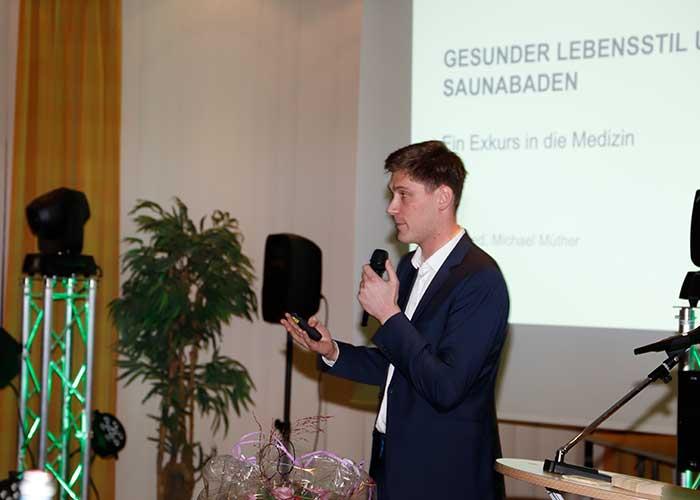 Dr. med. Michael Müthe über den Stand der Forschung zur gesundheitlichen Wirkung des Saunabadens