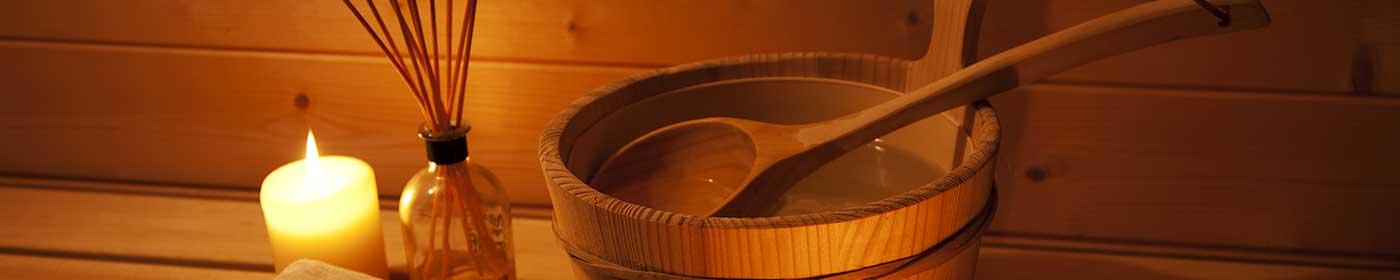 Corona Saunabesuch