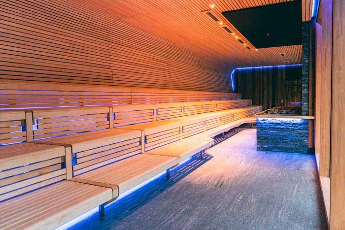 GARTENsauna: 100 m² große Eventsauna mit Platz für 80 Personen