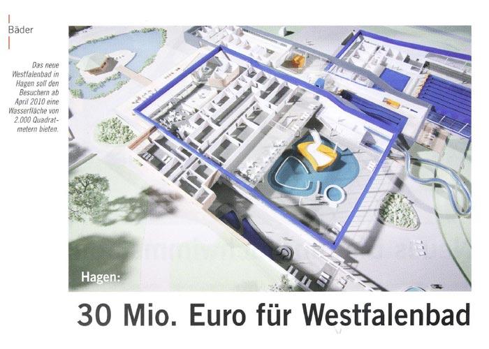 Das neue Westfalenbad Hagen ab April 2010