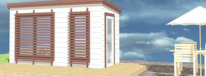 Design Gartensauna Maali 6