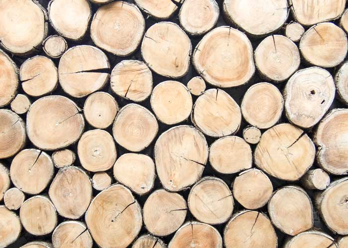 Holz Stapel