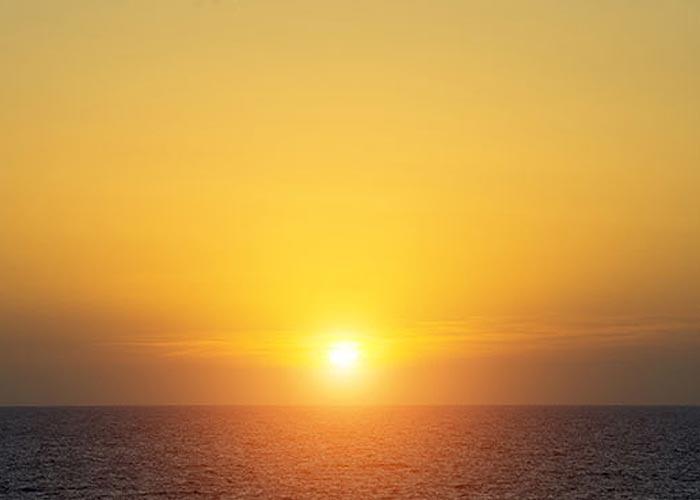 Infrarotstrahlen Sonne