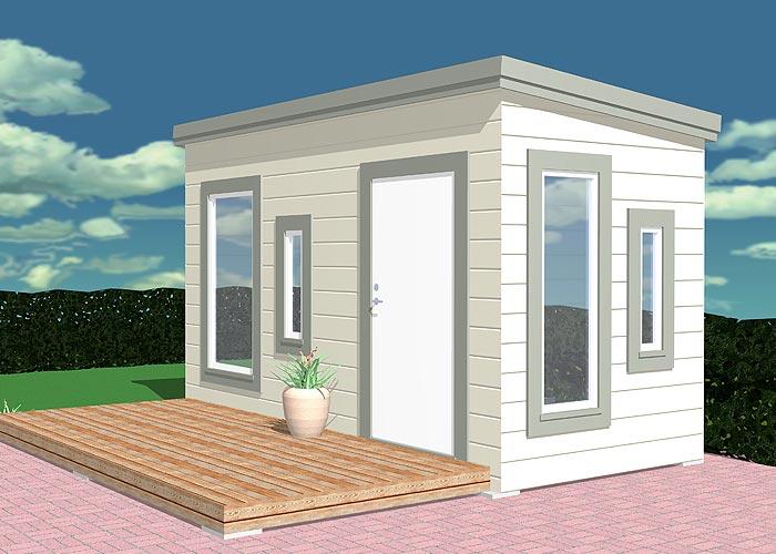 Maali 5 Sauna Garten