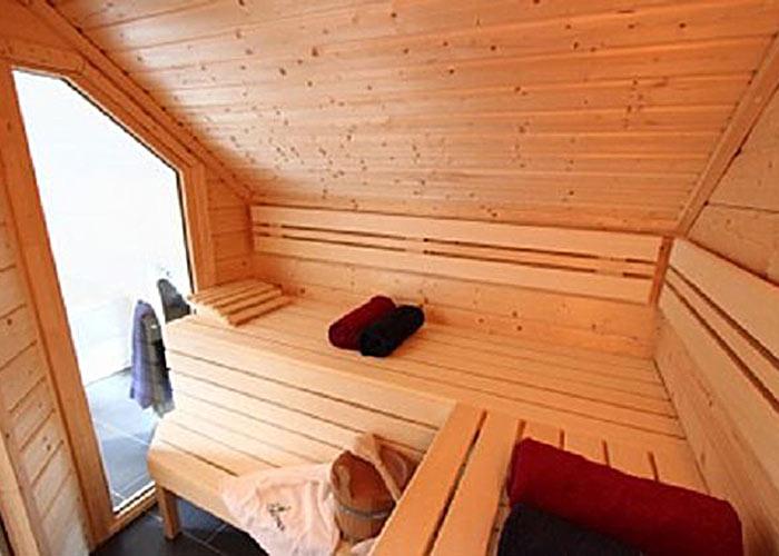 Müther Sauna Schräge Dach
