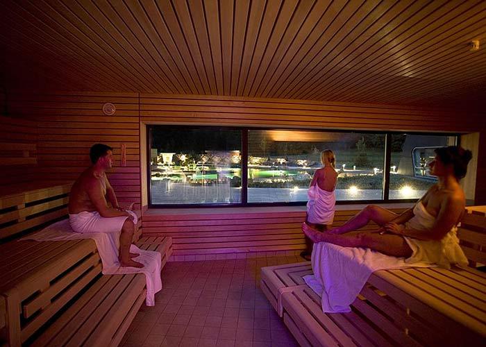Westfalenbad Hagen Sauna mit Panoramablick